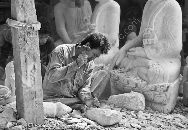 Sculptor, Mandalay