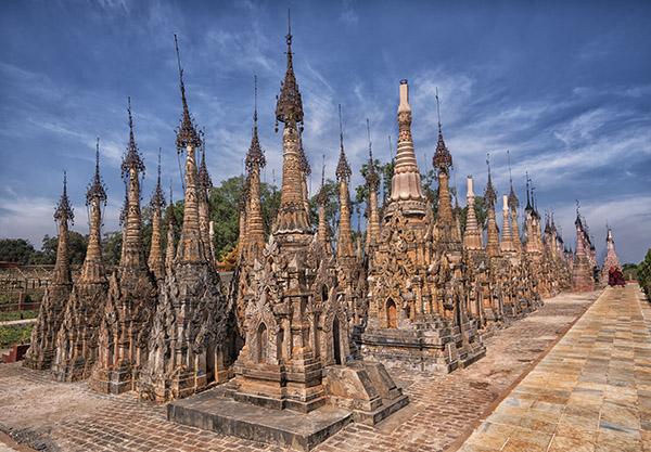Stupas Kekku Shan State