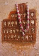 Sati Stone, Mehrangarh Fort