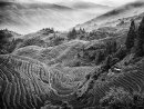 Terraced Landscape China mono