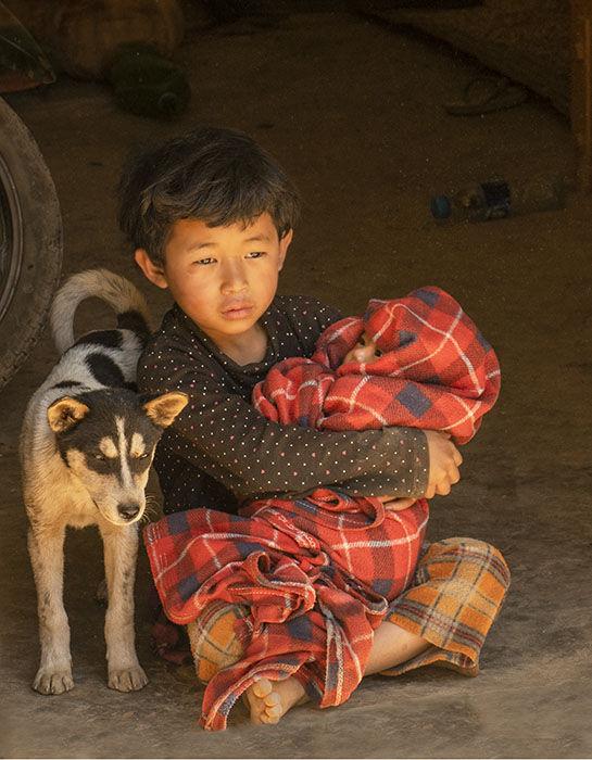 Brothers Htay Kho village