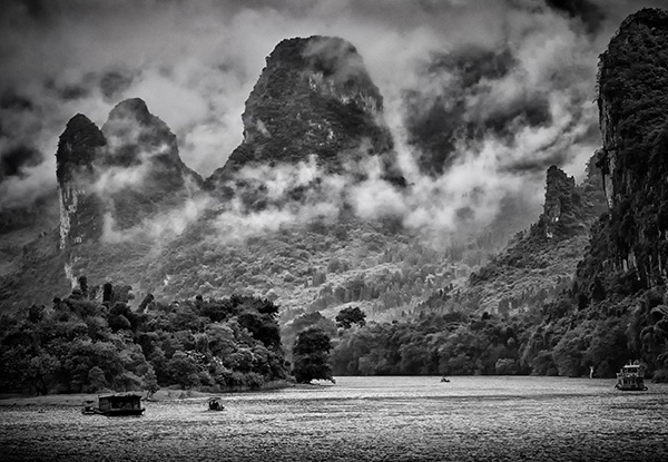 The Li River Guilin China