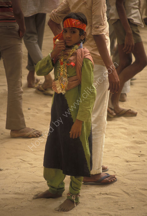 Boy Dancer, Holi Festival