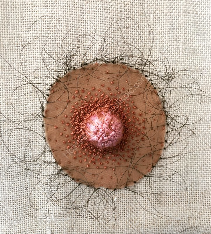 Nipple sampler, 2018, detail