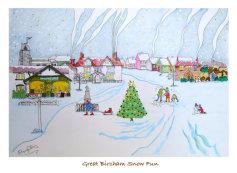 Great Bircham Snow Fun