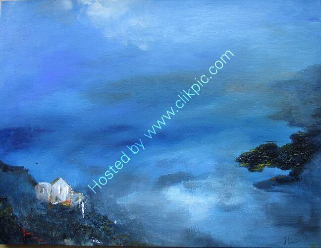 Acrylic on canvas 16x20