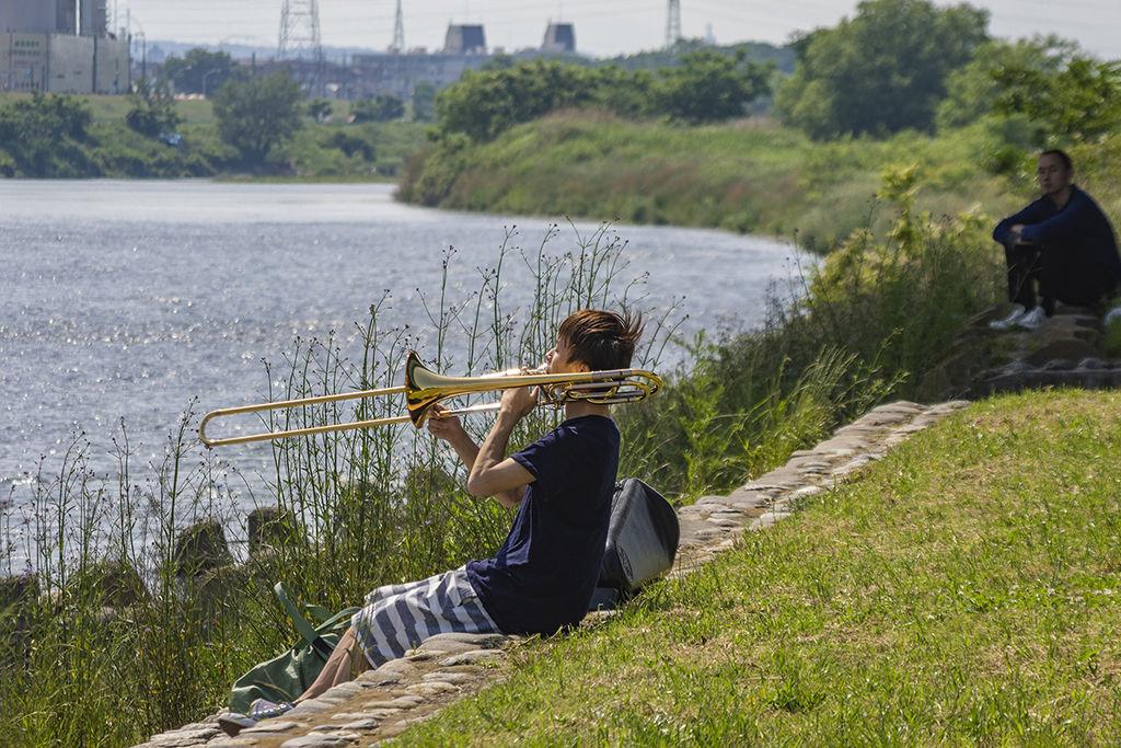 Trombone practice