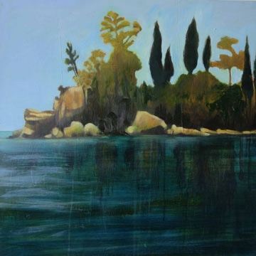 Corfu (Bocklin) SOLD