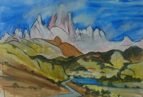 Mount Fitz Roy, El Chalten (SOLD)