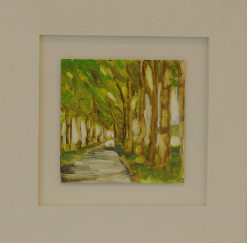 Green Parallel (study) (SOLD)