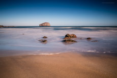 Bass Rock from Seacliff Series I