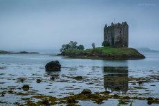 A bleak day at Castle Stalker