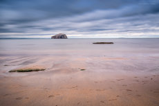 Bass Rock from Seacliff Series IV
