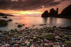 St. Abbs sunset