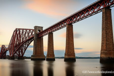 Forth Rail Bridge Long Exposure from the Hawes Pier