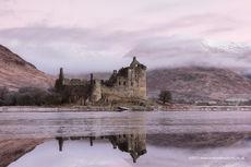 Kilchurn Castle on a Winter morning
