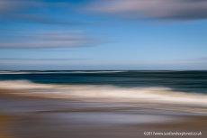 Rattray Head Beach Blur