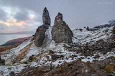 Sunrise at the Old Man of Storr I