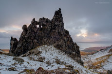 Sunrise at the Old Man of Storr II
