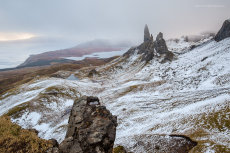 Sunrise at the Old Man of Storr III