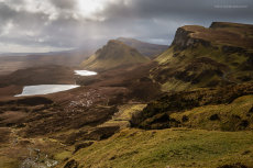 Dancing Light on the Quiraing
