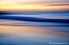 Sunset Blur at North Berwick
