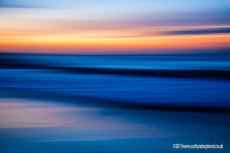 Sunset Blur at North Berwick II