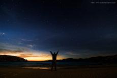 Under the Stars at Achmelvich Beach