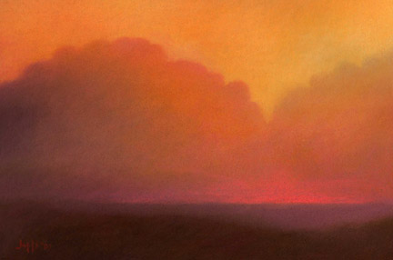 """Clouds at Sunset"", 2009"