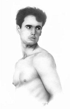 """Study of David I"", 1993"