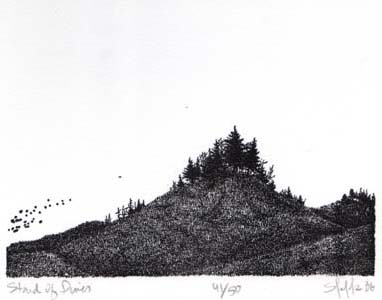 """""""Stand of Pines"""", 1983"""