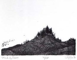 """Stand of Pines"", 1983"