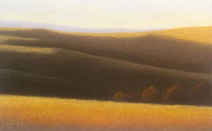"""Tuscan Hillside"", 2002"