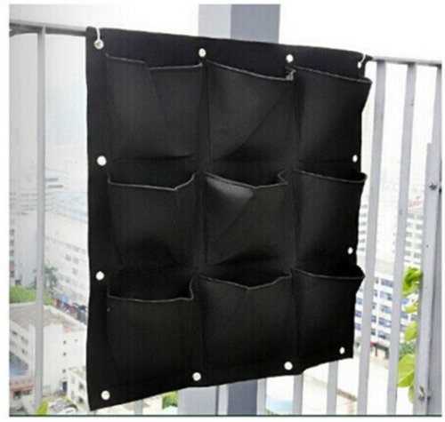 9 pocket vertical garden planter £9.95