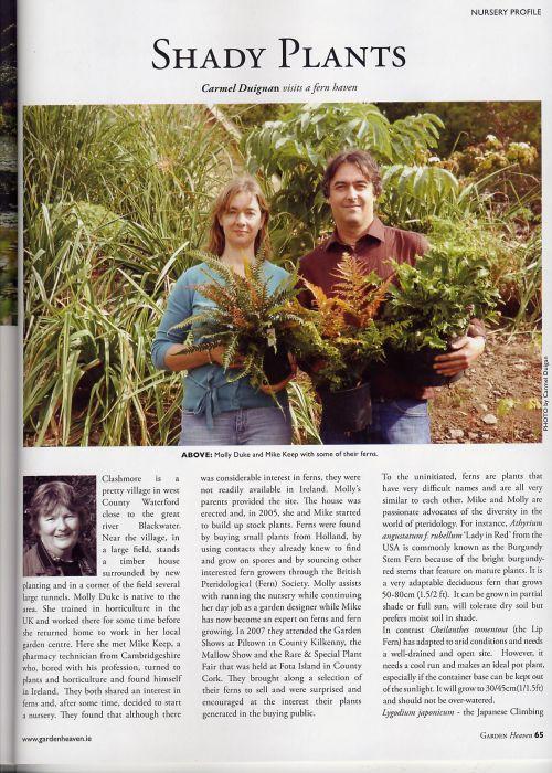 Garden Heaven magazine 1