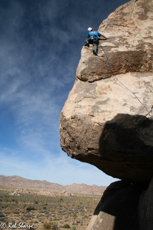 Climbing The Headstone