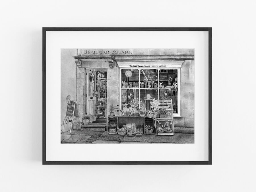 Beauford Square Open Edition Print