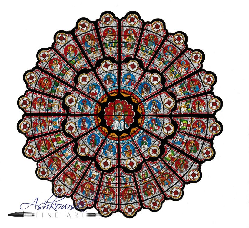 Durham Cathedral Rose Window
