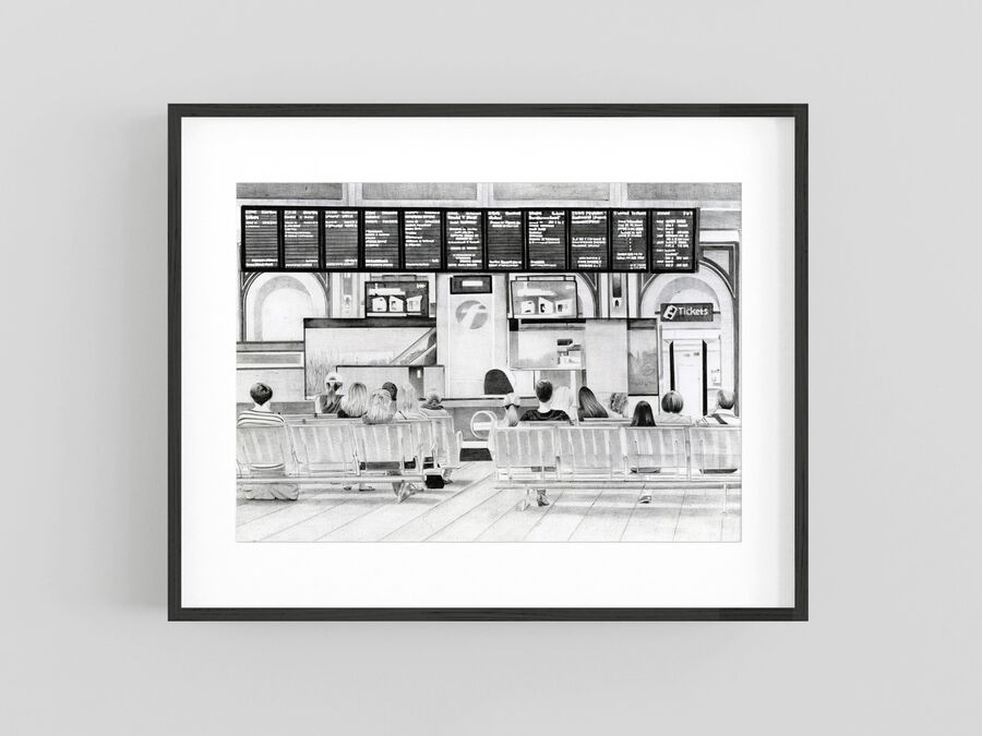 """ETA"" Giclee Print"