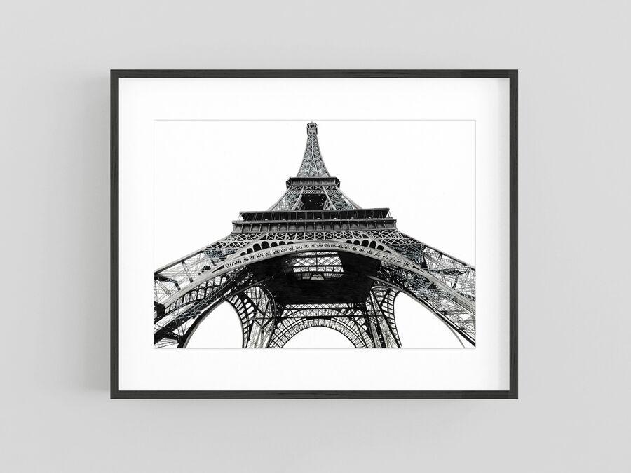 """Eiffel Tower"" Giclee Print"