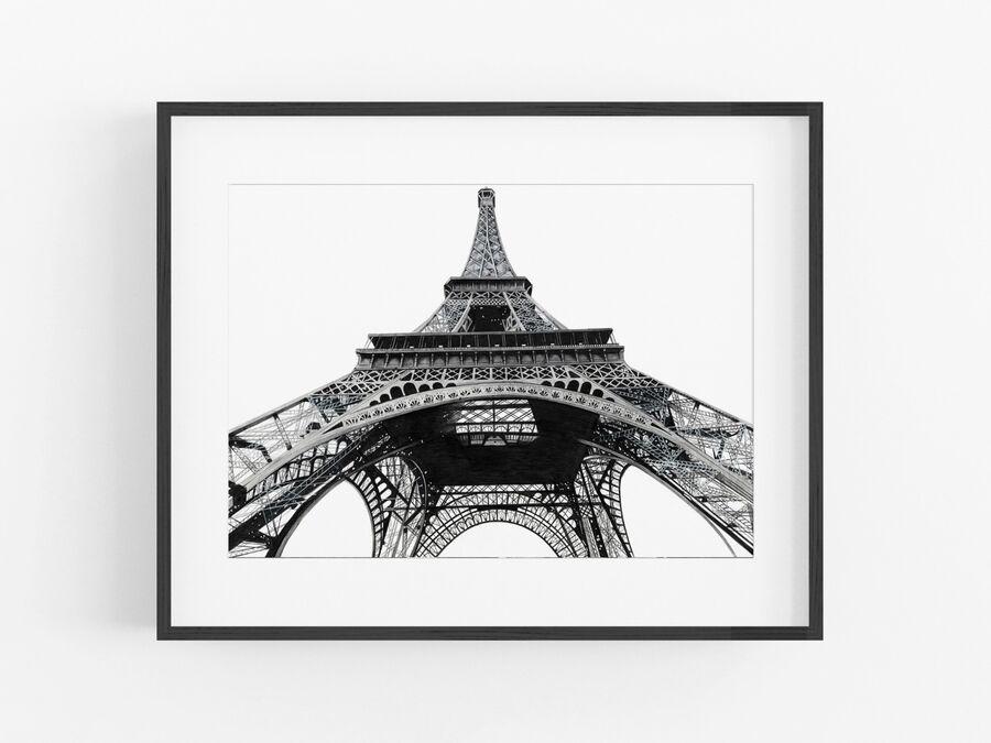 Eiffel Tower Open Edition Print
