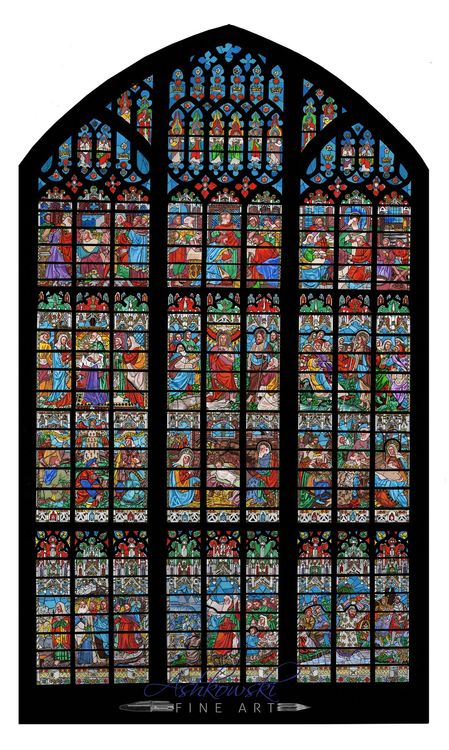 Gloucester Cathedral West Window