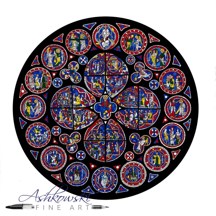 Lincoln North Rose Window