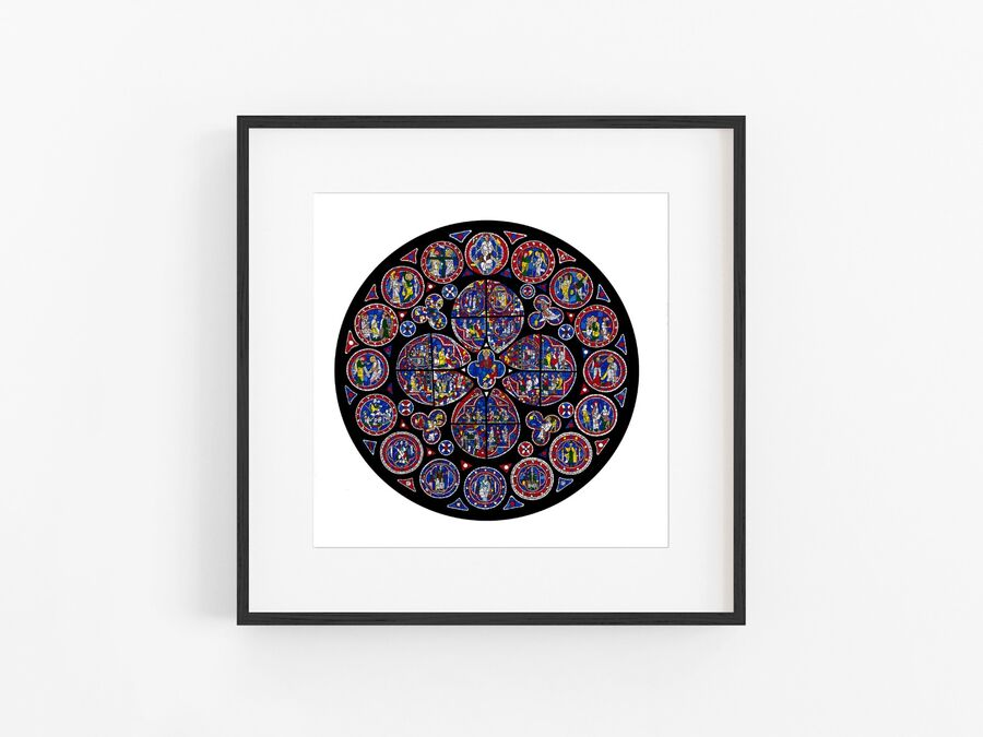 Lincoln Cathedral North Rose Window