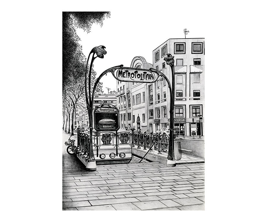 Metro Richard Lenoir