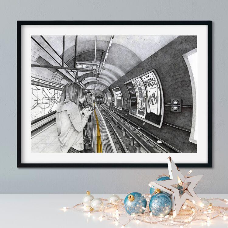 """Mind the Gap"" Giclee Print"