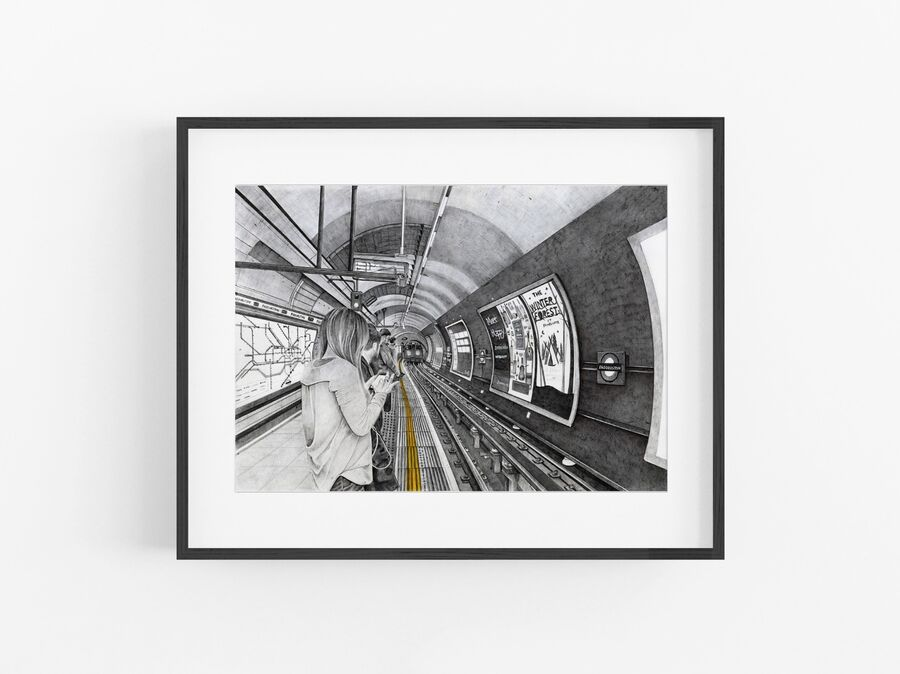 Mind the Gap Open Edition Print
