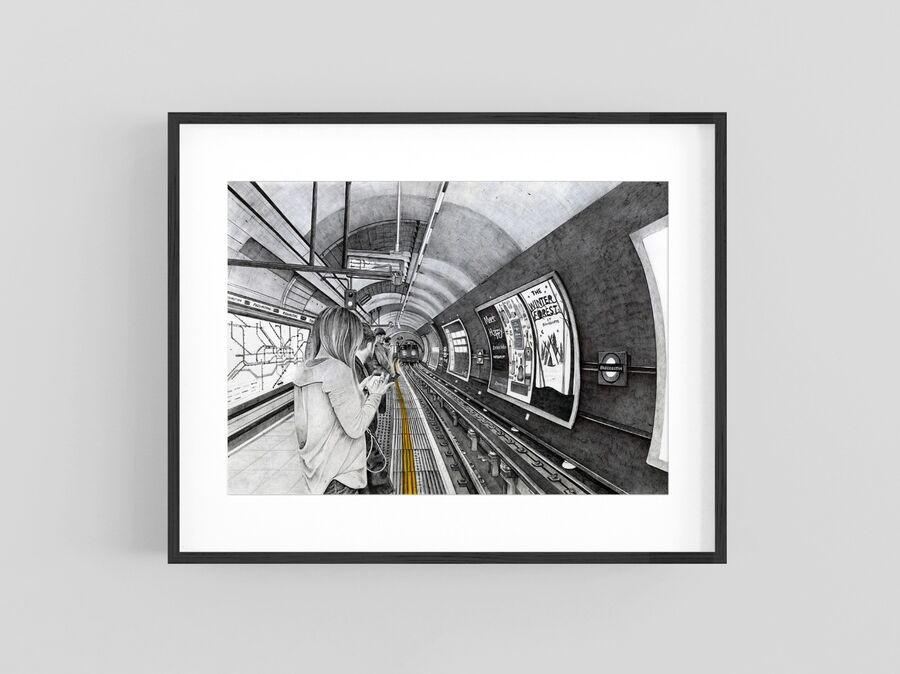 """Mind the Gap"" Giclee Print"