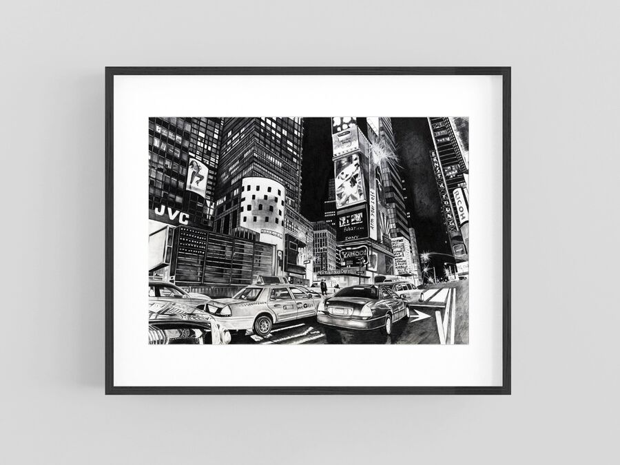 """NYPD"" Giclee Print"