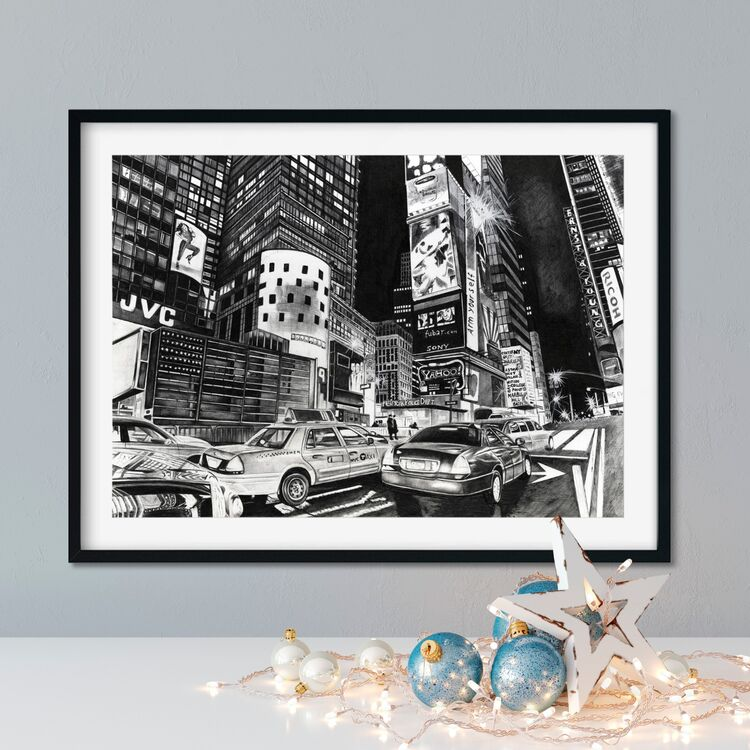 """""""NYPD"""" Giclee Print"""